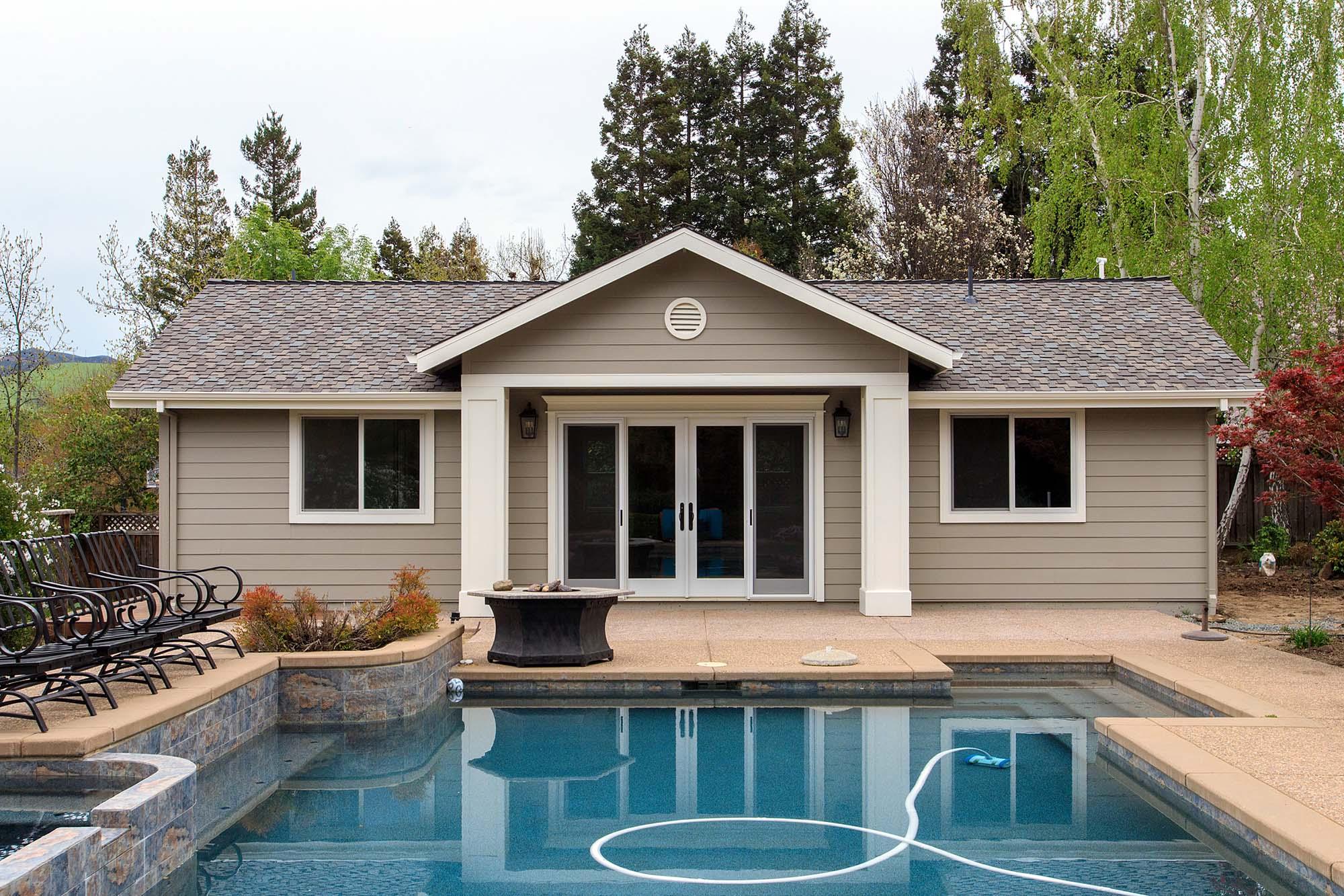 ADU/Pool House Unit
